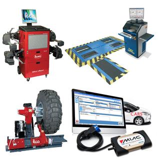 Maquinaria taller coches